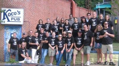 The Barcrawl Crew T-Shirt Photo