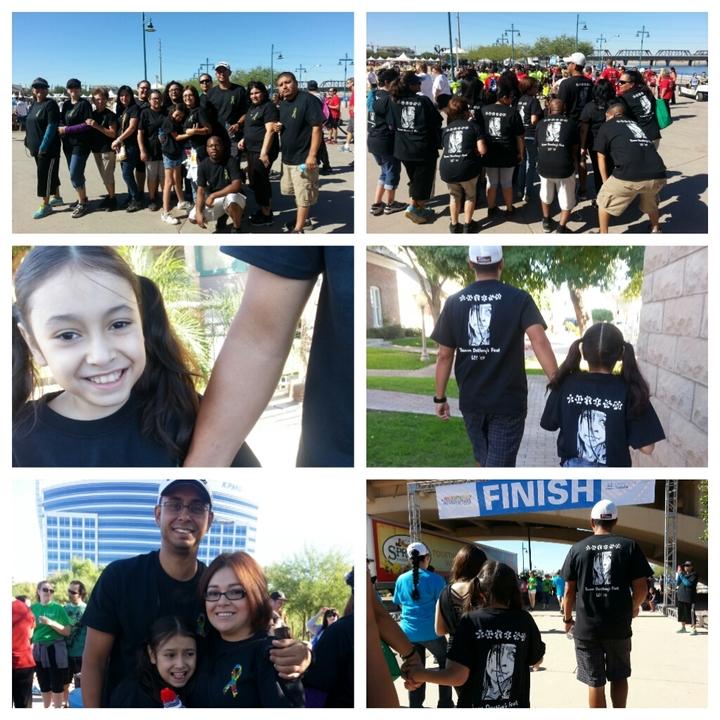 Team Destiny's Feet For Autism Speaks T-Shirt Photo