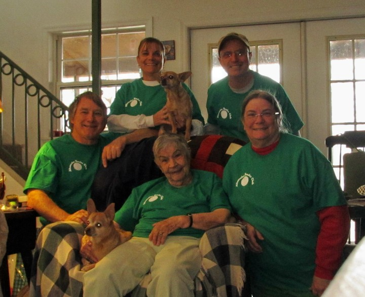 Granny Snipes And Her Family! T-Shirt Photo