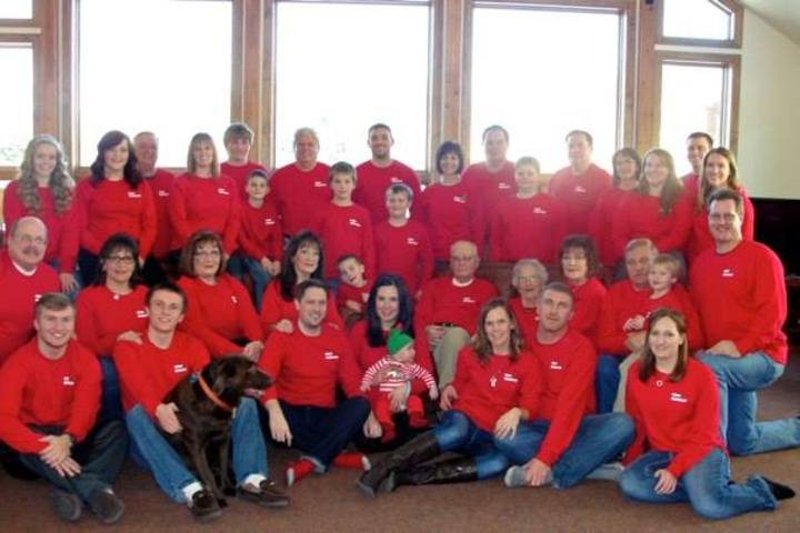 Christmas In The Mountains T-Shirt Photo