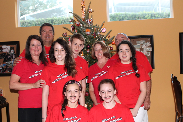 N#Shtag Merry Rossmas T-Shirt Photo