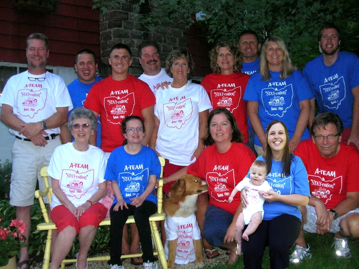 Stay Cation Kent Oh T-Shirt Photo