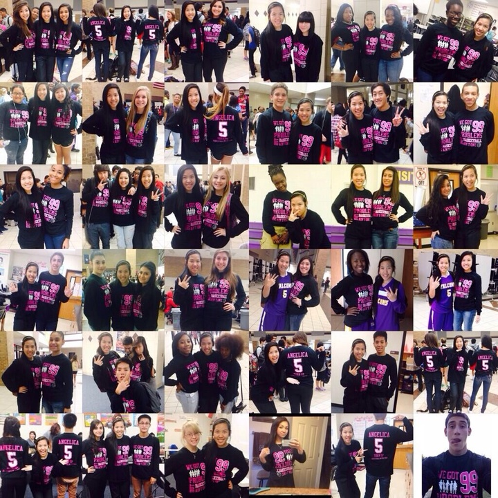 Angelica's #1 Fans! T-Shirt Photo
