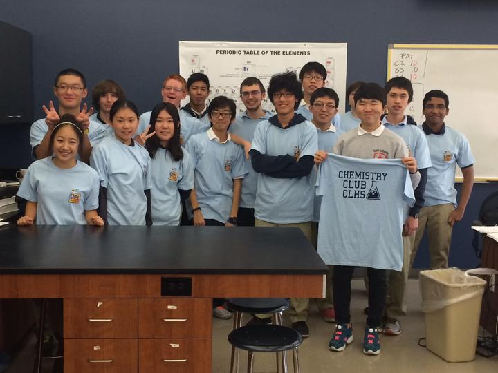 Clhs Chemistry Club T-Shirt Photo