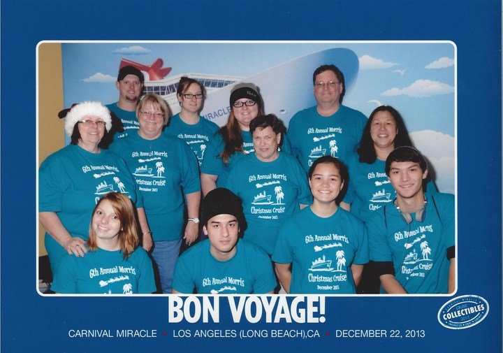 Morris Family Cruise 2013 T-Shirt Photo