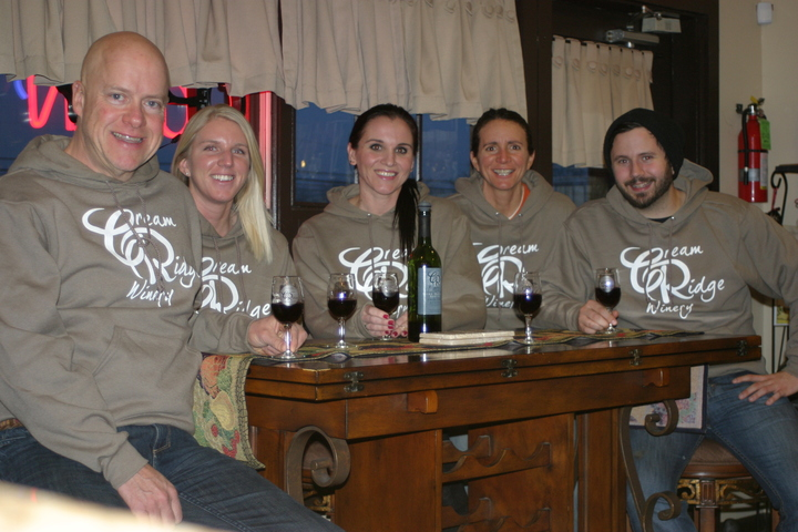 Craft Winemakers Warm For Winter In Our New Hoodies! T-Shirt Photo