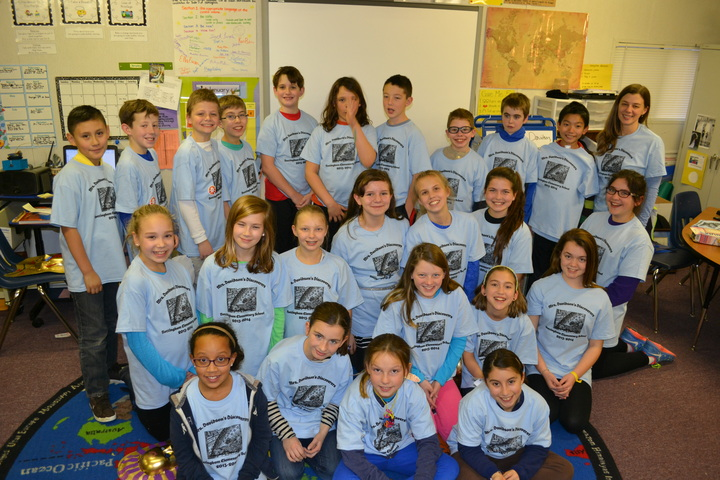 Mrs. Davidson's Discoverers T-Shirt Photo