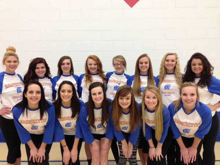 Raiderettes In Baseball Tees T-Shirt Photo