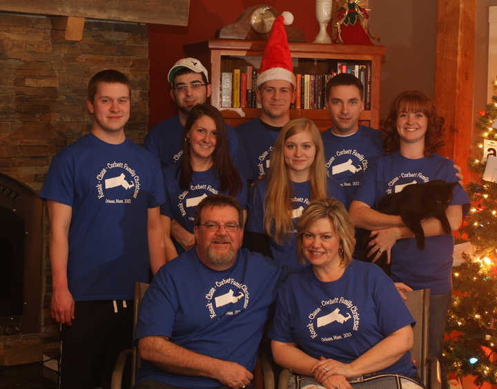 First Ever Cape Cod Family Christmas Getaway T-Shirt Photo