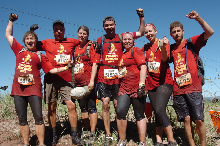 Tough Mudder Celebration T-Shirt Photo
