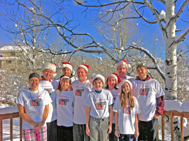 Steamboat Christmas T-Shirt Photo