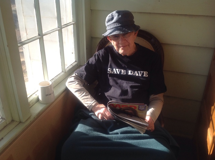 Aarp Magazine, A Cup Of Tea, And A New T Shirt T-Shirt Photo