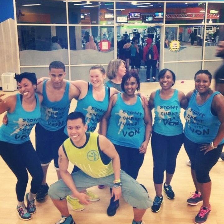Von's Zumba® Class T-Shirt Photo