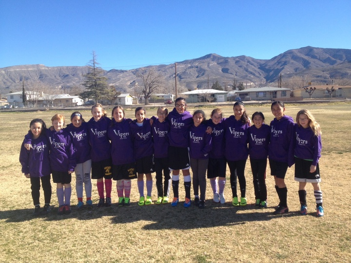 Getting Ready For Our Soccer Tournament Staying Warm In Our Hoodies! T-Shirt Photo
