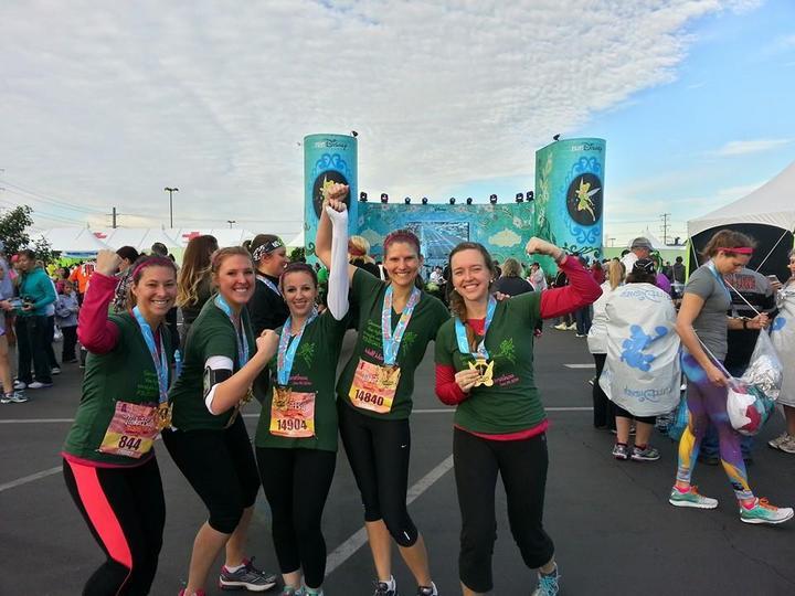 Tinkerbell Half Marathon Complete!!!  T-Shirt Photo