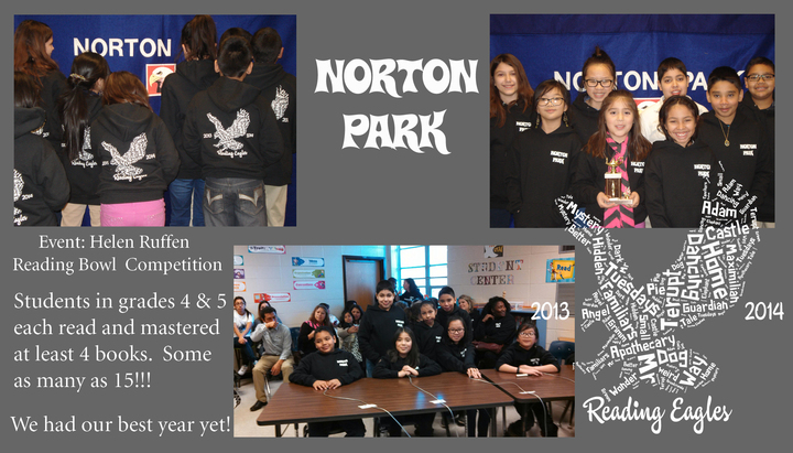 Norton Park Reading Eagles T-Shirt Photo