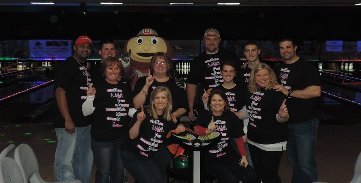 K Farms Buckeye Cruise For Cancer Bowling Event T-Shirt Photo