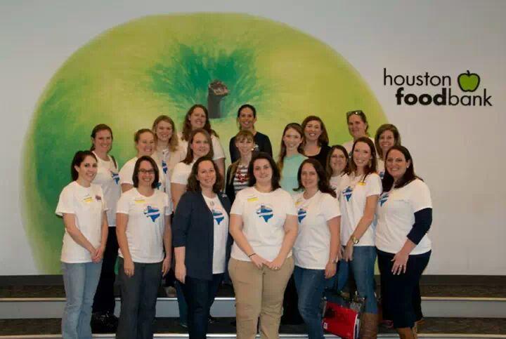 Txdar Juniors Volunteer At The Houston Food Bank T-Shirt Photo
