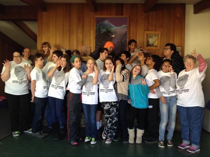 Youth Group Winter Retreat Craziness! T-Shirt Photo