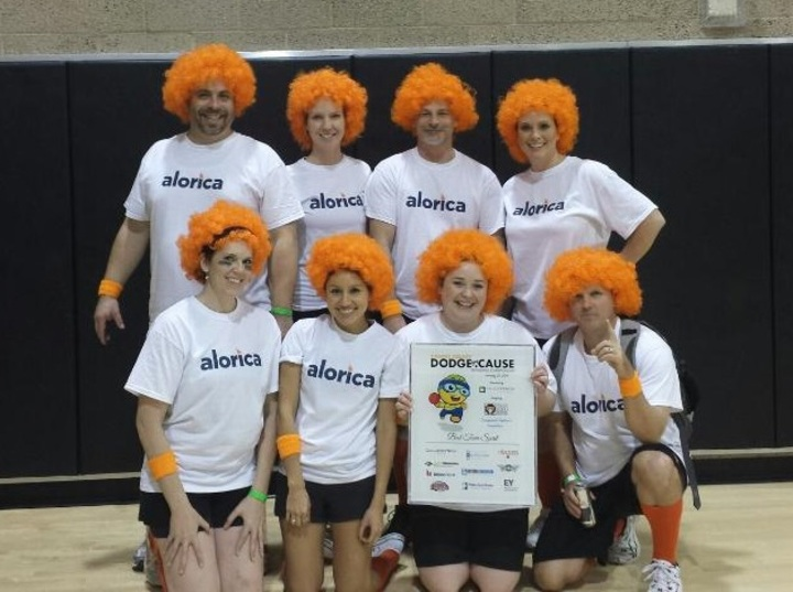 Alorica   Won Best Team Spirit T-Shirt Photo
