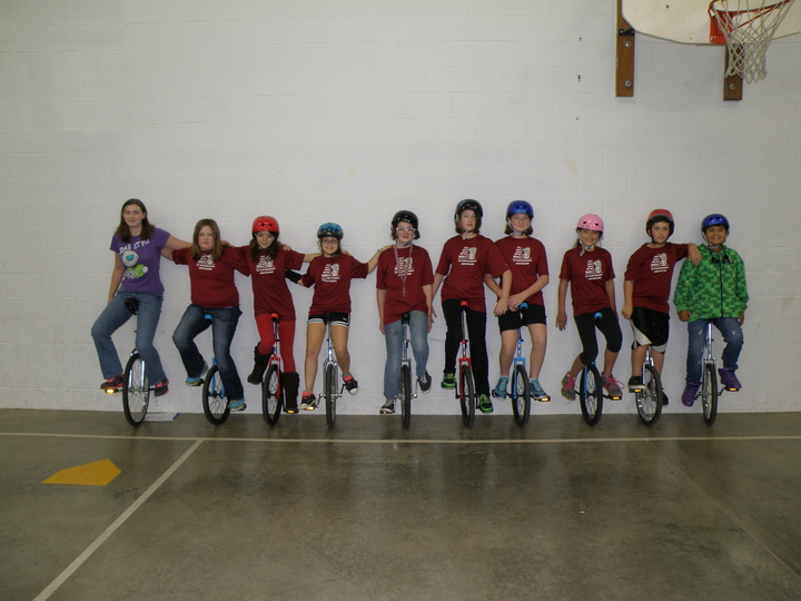 Youth Dynamics Unicyclers T-Shirt Photo