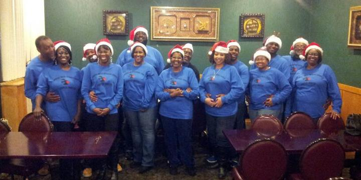 Couples Ministry Christmas Dinner T-Shirt Photo