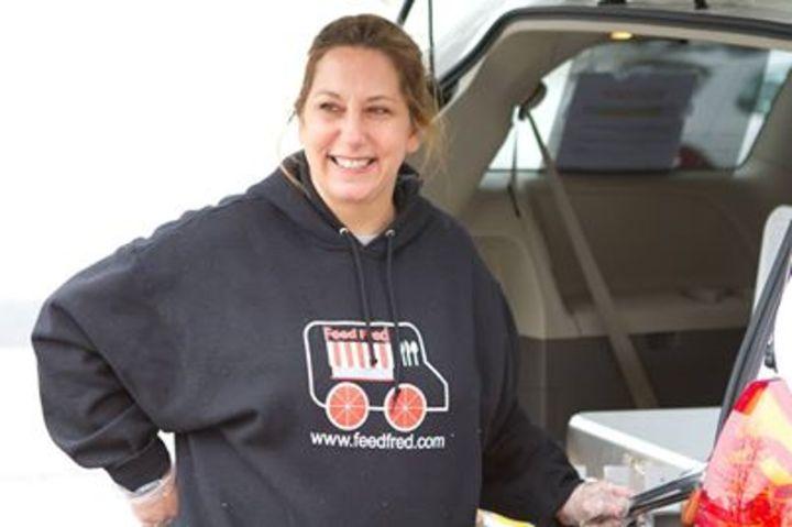 Feeding The Homeless In Fredericksburg T-Shirt Photo