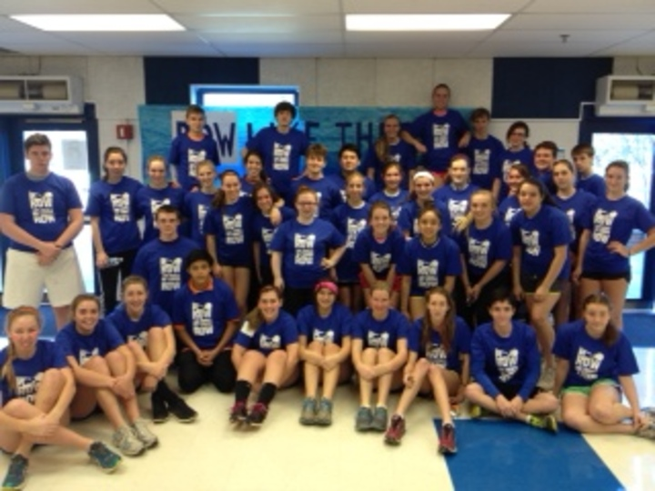 West Potomac Crew 2014 Erg A Thon T-Shirt Photo