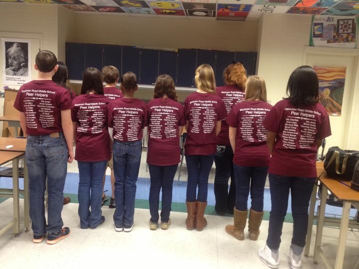 Brms 13 14 Peer Helpers T-Shirt Photo