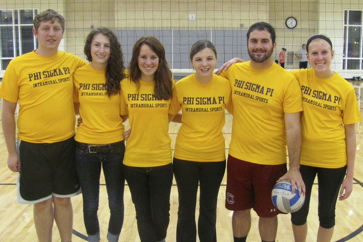 Phi Sigma Pi Intramural Volleyball T-Shirt Photo