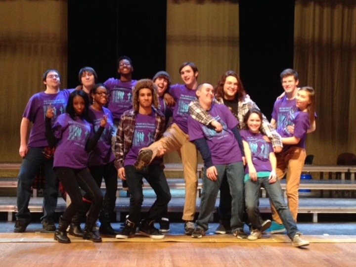 Matoaca Hs Actors Love Customink! T-Shirt Photo