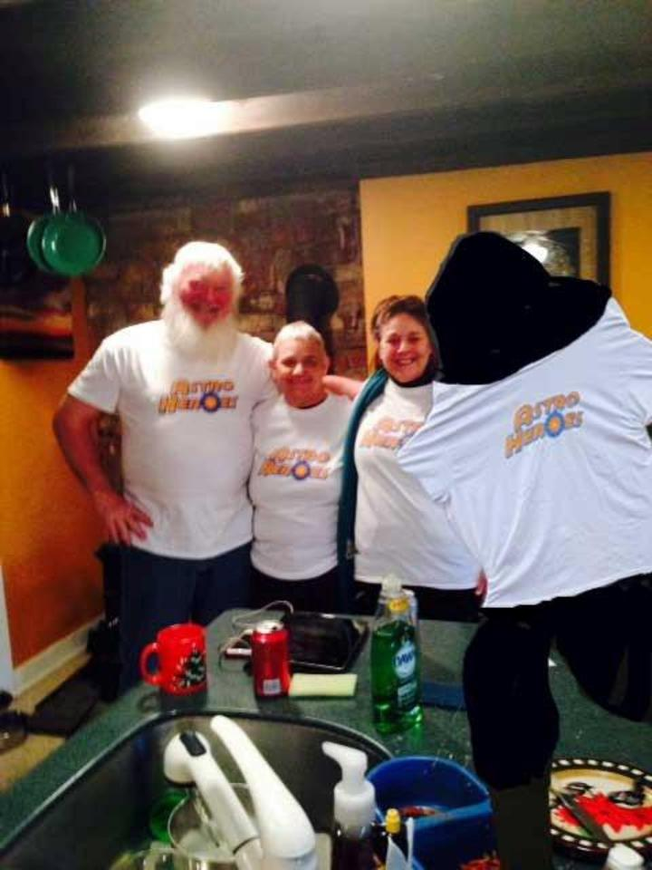 Big Foot Likes Astro Heroes T-Shirt Photo