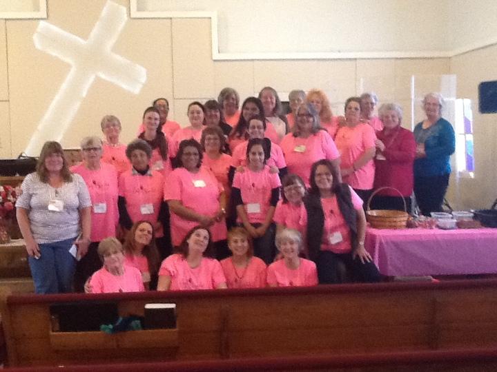 Cafe Chocolat Womens Retreat New Life Fellowship T-Shirt Photo
