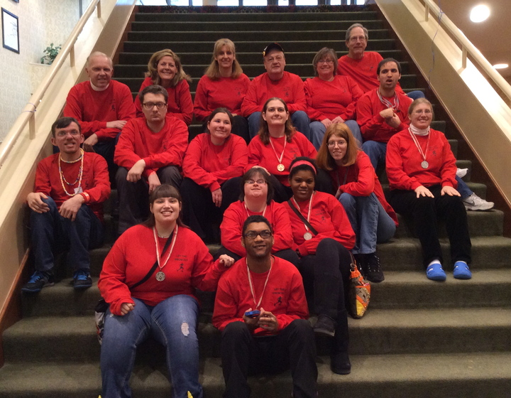 2014 Plymouth Canton Special Olympics Winter Games Team T-Shirt Photo