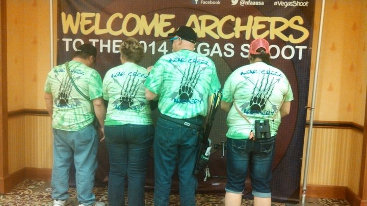 Archers In Vegas T-Shirt Photo