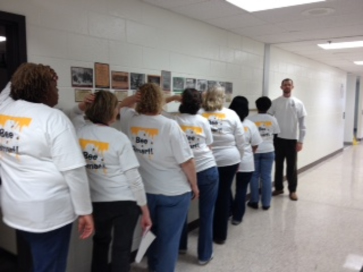 "Our Teachers ""Bee Smart""! T-Shirt Photo"