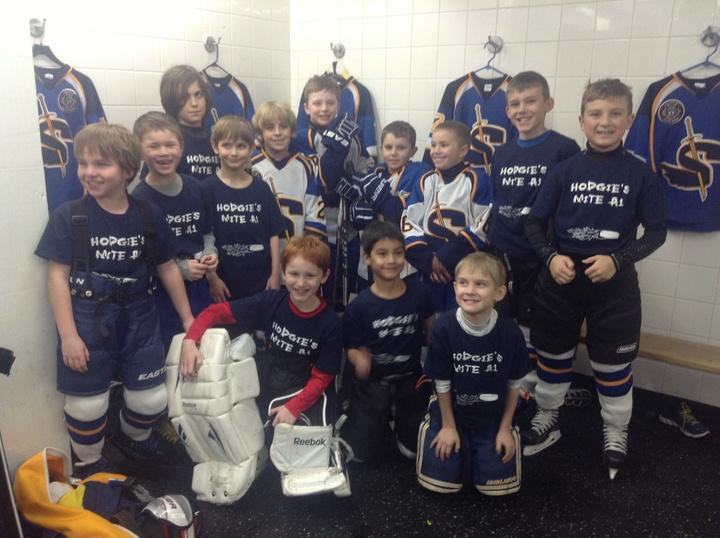 Hodgie Hockey T-Shirt Photo