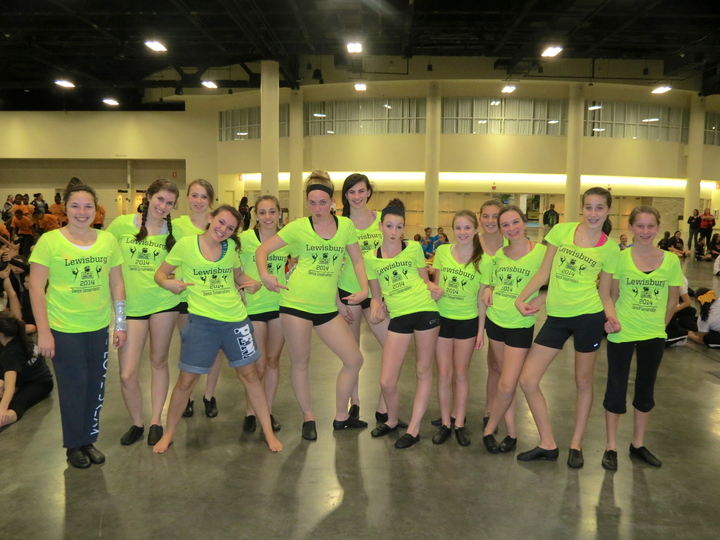 Orange Bowl Dancers! T-Shirt Photo
