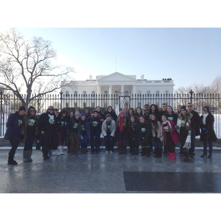 St. Brendan's Model Un Trip To Washington!  T-Shirt Photo