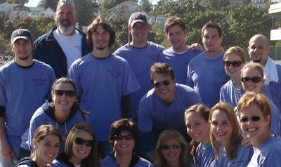 Autism Speaks Walk   Team Maggies Marchers T-Shirt Photo