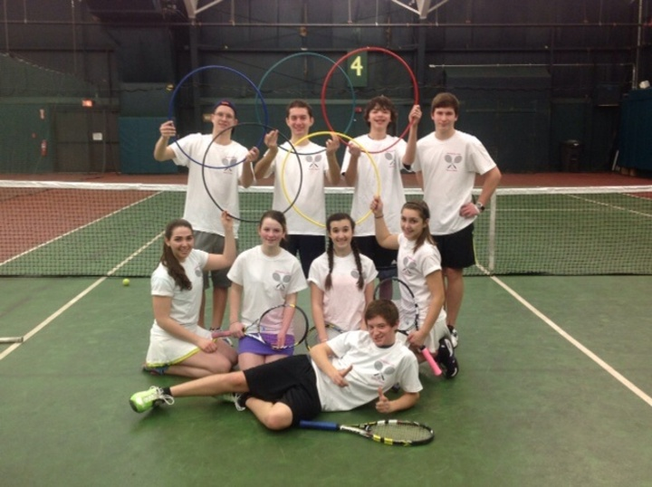 Hampshire Hills Tennis Stars T-Shirt Photo