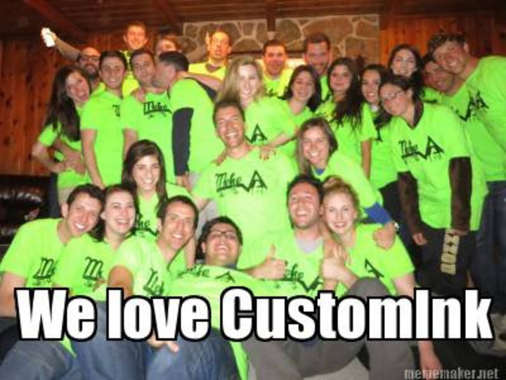 We Love Custom Ink! T-Shirt Photo