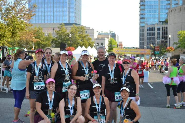 Nashville Women's Half Marathon T-Shirt Photo