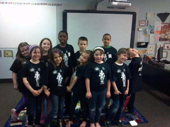 Cscl 2nd Grade Class T-Shirt Photo