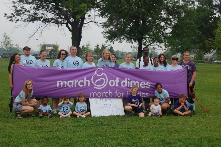 March Of Dimes Fundraiser T-Shirt Photo