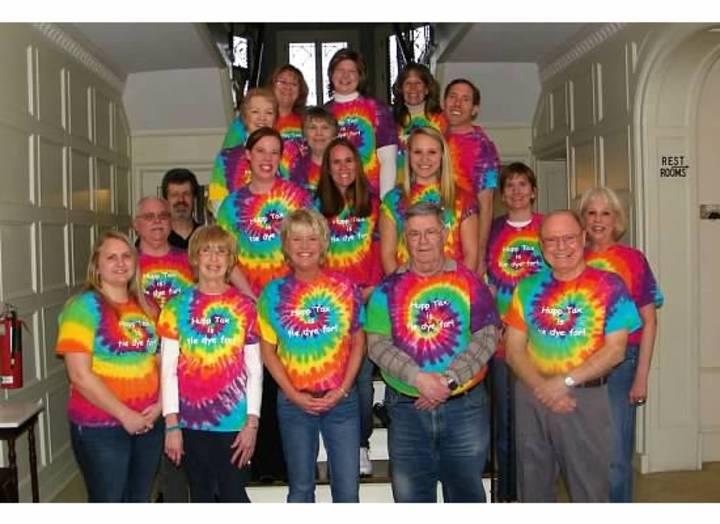 Hupp Tax Is Tie Dye For! T-Shirt Photo