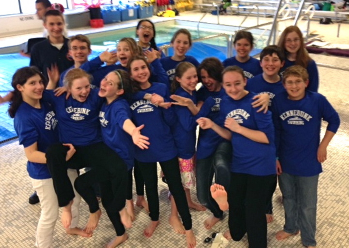 Msk Swim Team  T-Shirt Photo