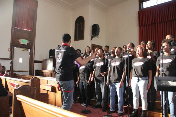 Voices Of Praise Gospel Choir Spring Concert T-Shirt Photo