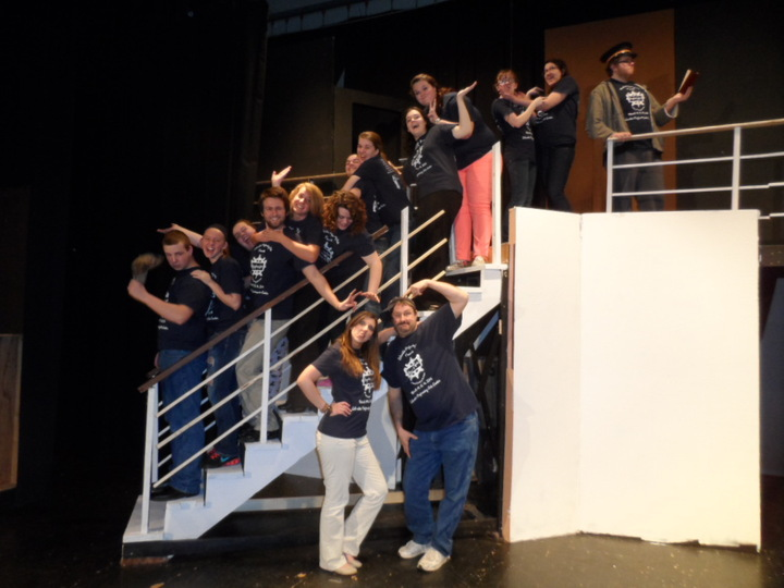 Out Crazy And Wonderful Cast T-Shirt Photo