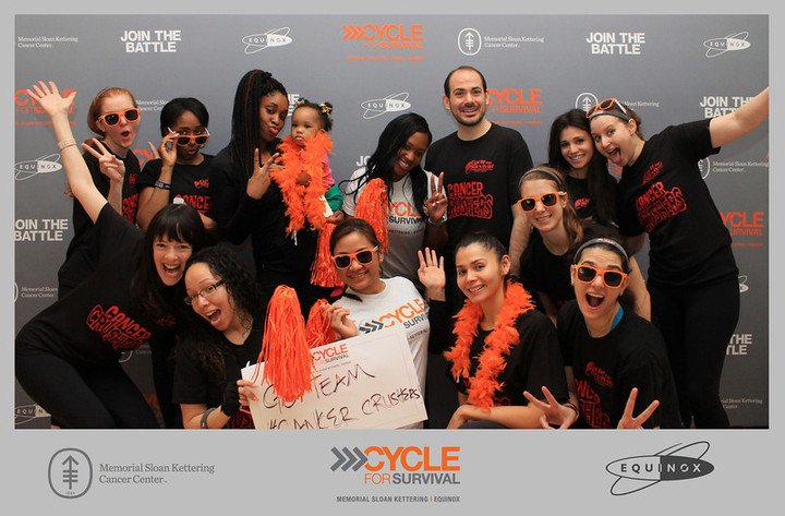 Cycle For Survival Nyc 2014 Team Cancer Crushers T-Shirt Photo